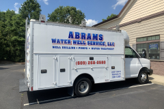Abrams_Well_Service_Chevy_Conversion_Van_Lettering_1