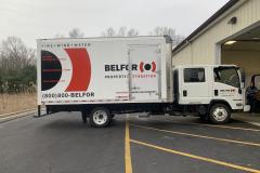 Belfor_Isuzu_Box_Truck_Lettering_2