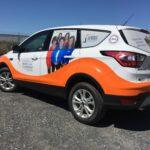 Fleet Vehicle Wraps for Guardian Nurses – Commercial Wrap